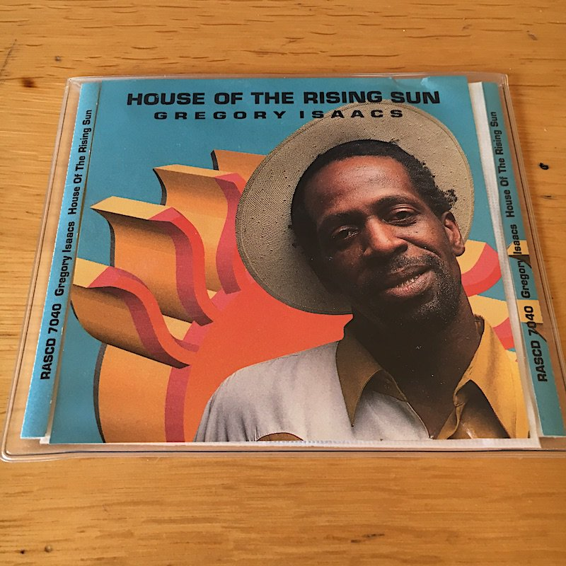 GREGORY ISAACS「House Of Rising Sun」→ https://youtu.be/snzgCwKmifE #本日命日 #Cover #Animals #朝日のあたる家 #92年 #RASRecords #US #SingleCD #RIP #CoolRuler #Legend