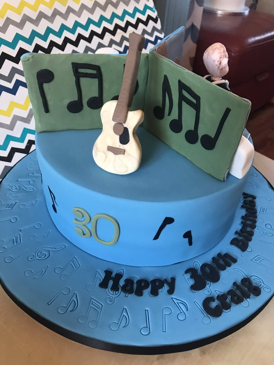 Yorkshire Cake Man On Twitter Work Rest And Play 30th Birthday Message Me For A Bespoke Any Special Occasion