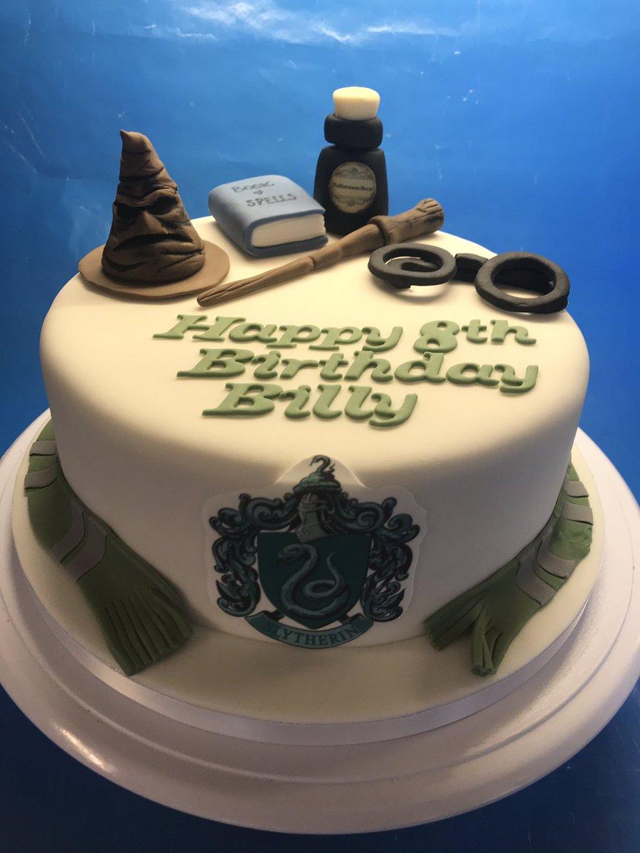 Yorkshire Cake Man On Twitter Harry Potter Slytherin Birthday Cake