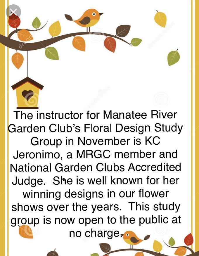 Manatee Garden Club (@manateeriverga2) | Twitter on winning garden club flower designs, standard flower show table designs, garden club underwater designs,