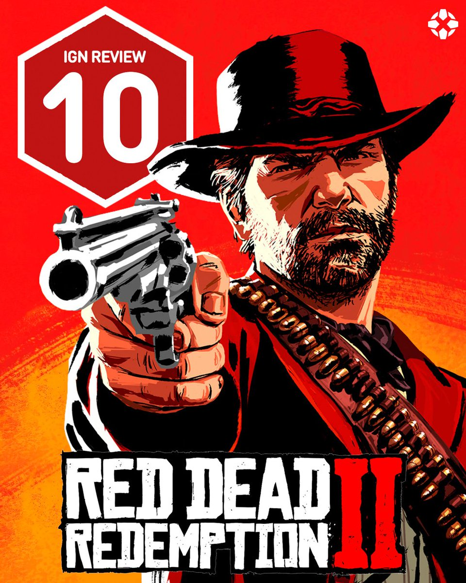 'Red Dead Redemption 2 stands shoulder-to-shoulder with Grand Theft Auto V as one of the greatest games of the modern age.'