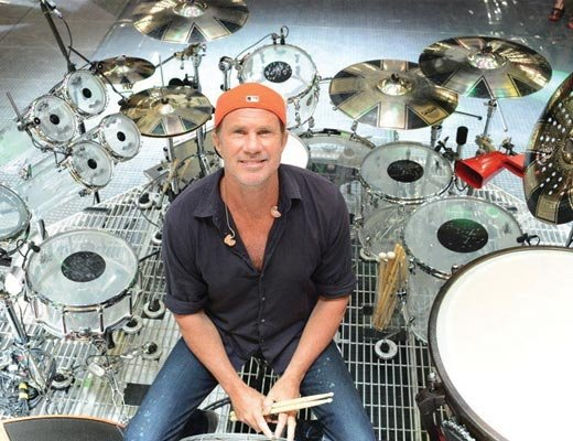 Happy birthday Chad Smith!  The power behind the Red Hot Chili Peppers.