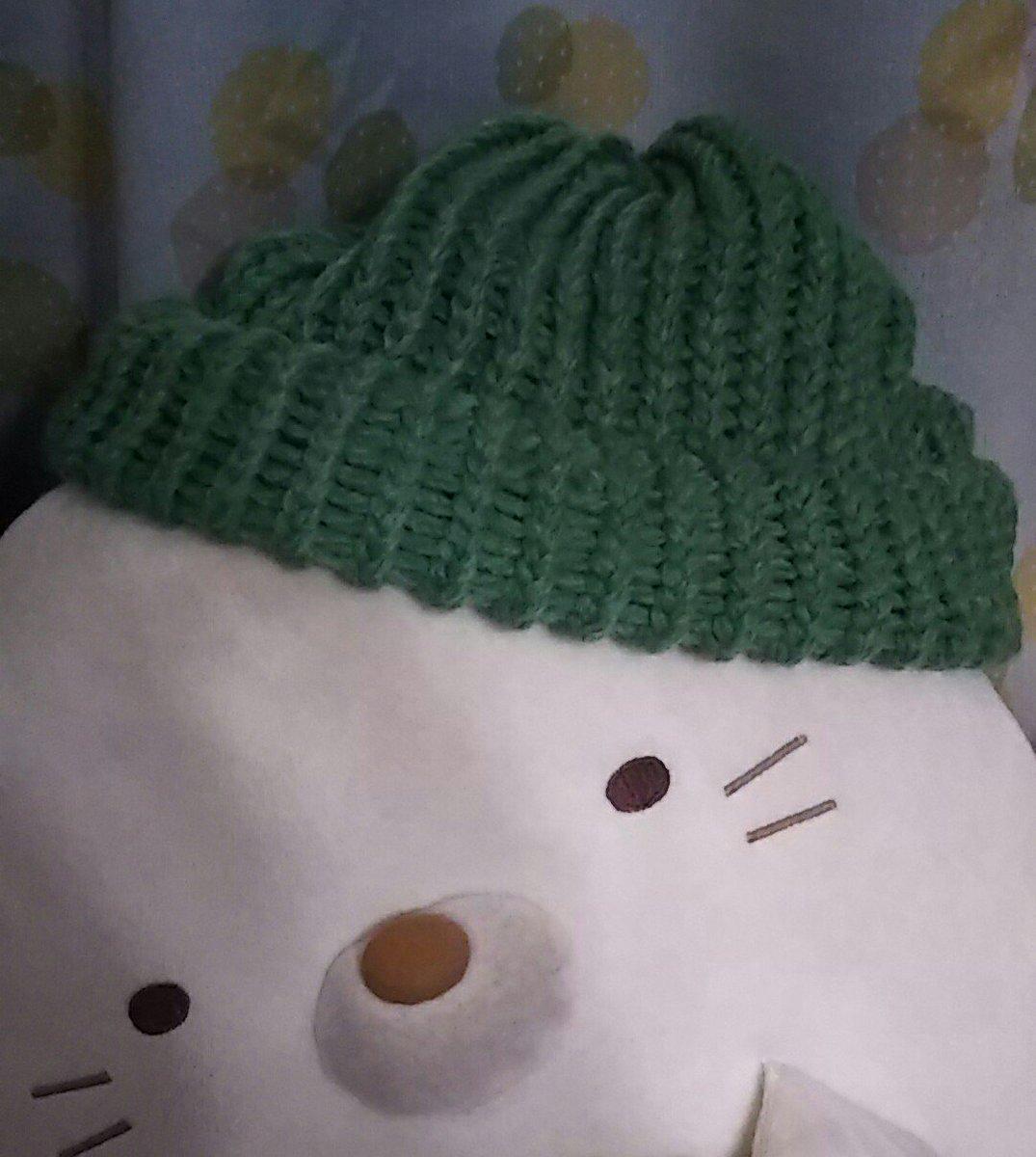 test ツイッターメディア - 試作品出来っ! #Seria で編み機と毛糸買って作ってみた?( 'ω' )?  改良の余地アリだけど思ったよりキレイに編めたー♪ 気分転換の良い暇つぶし(o´艸`) https://t.co/dZZb7TAWCS