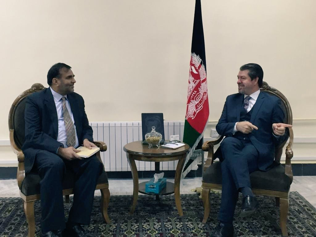Commerce Secretary Dr.Anup Wadhawan met the Afghan Minister of Economy Dr Mustafa Mastoor in Kabul to discuss bilateral trade, commerce and investment issues. @vkumar1969 @DoC_GoI