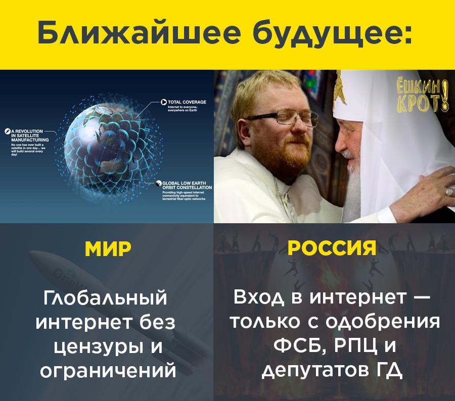 """Держдума підтримала в першому читанні законопроект про ізоляцію російського інтернету. Проти виступили всі, крім """"Єдиної Росії"""" - Цензор.НЕТ 8812"""