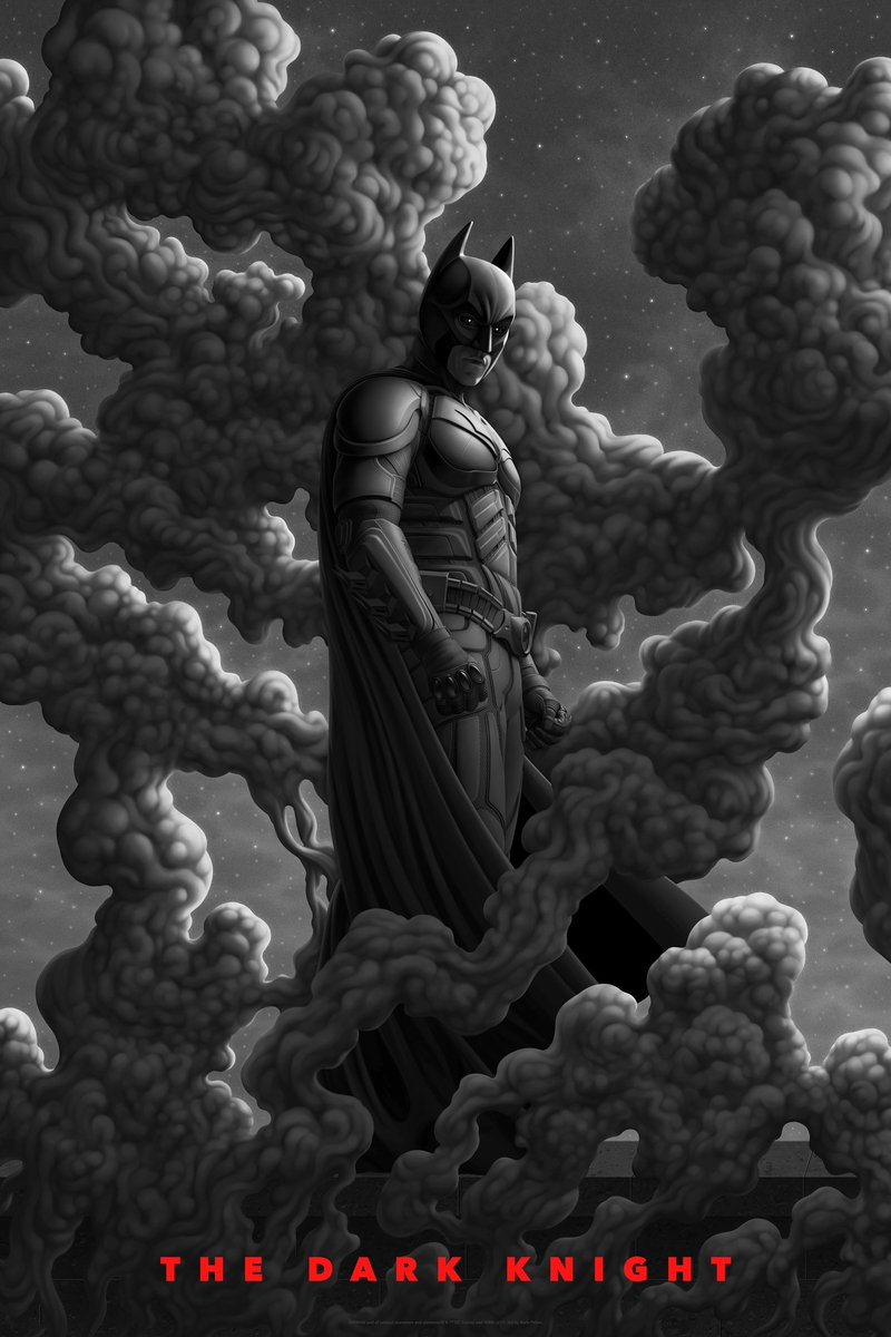 John Sant On Twitter The Dark Knight 2008 Directed By Christopher Nolan And Starring Christian Bale And Heath Ledger As Batman And Joker Illustrated Poster By Boris Pelcer For