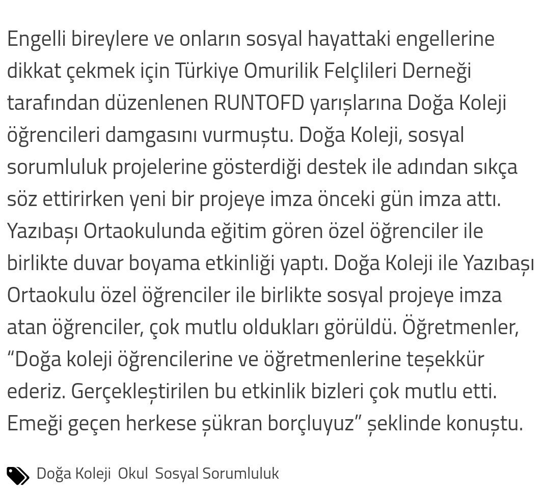 Doğa Koleji Mavişehir 2 Ortaokulu On Twitter Torbalı