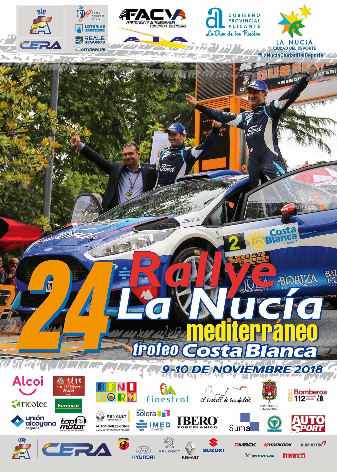 CERA: 24º Rallye La Nucía Mediterraneo - Trofeo Costa Blanca [9-10 Noviembre] DqX-TnXWkAMuYr8