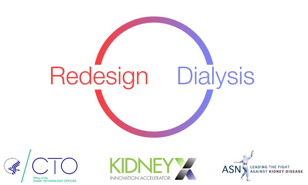 . @HHSGov and @ASNKidney announce $2.6M in prizes to #RedesignDialysis. This is the first of many opportunities to improve treatment options for patients with kidney diseases. Submissions open today! https://t.co/9yw0YwpzMo