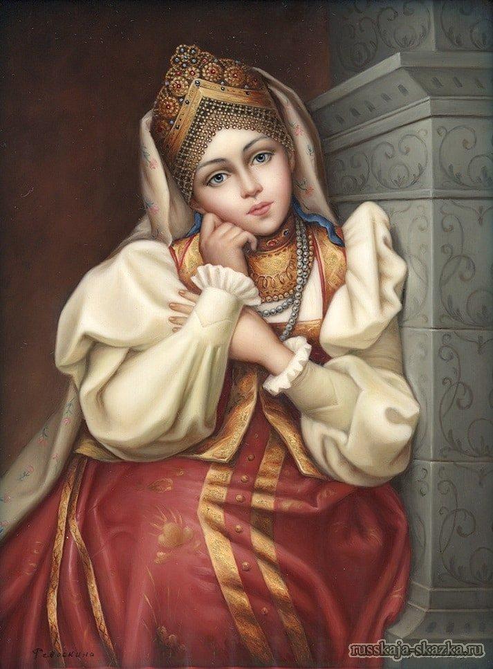 Девушки из русских народных сказок