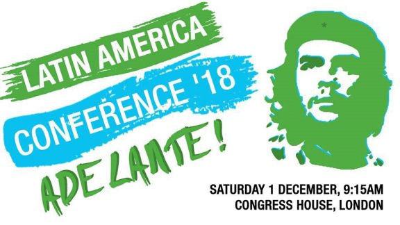 THREE weeks to go >> Is the date in your diary? >> Get set for the Latin America conference 2018 in London on Saturday 1 December - details and tickets - unitetheunion.org/news-events/ev…