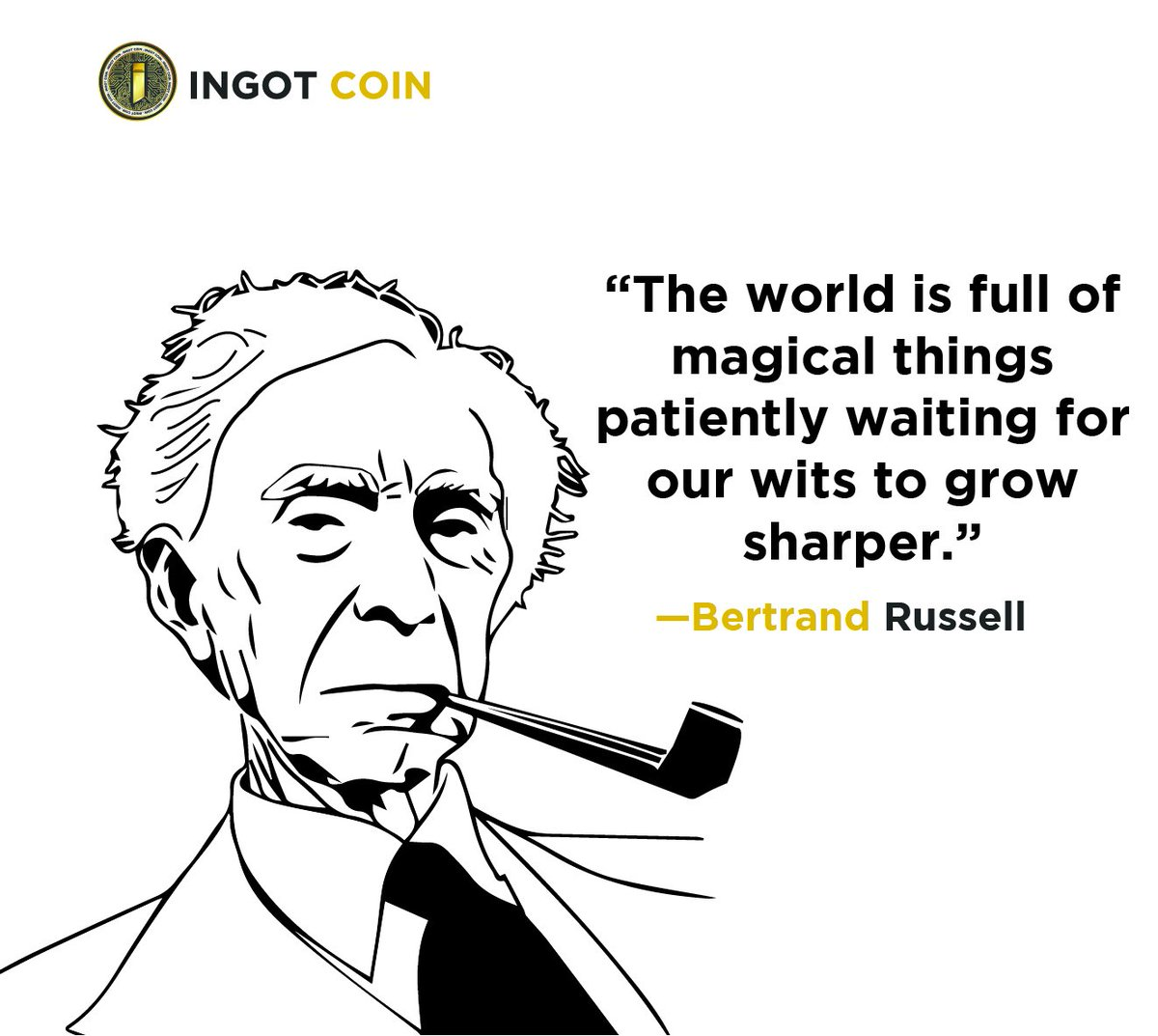 Ingot Coin On Twitter Quote Of The Week The Power Of Imagination