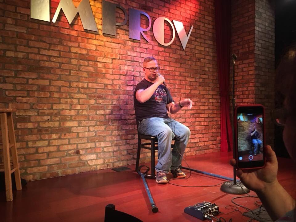 It's been a little over a week since I achieved one of my comedy dreams. Thanks for the advice and motivation @michaelrosenbum #DreamsDoComeTrue #WhatCerebralPalsy <br>http://pic.twitter.com/mJ8X1vGmrT