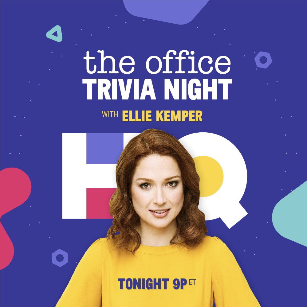 Hq Trivia On Twitter Ellie Kemper Will Be Guest Hosting