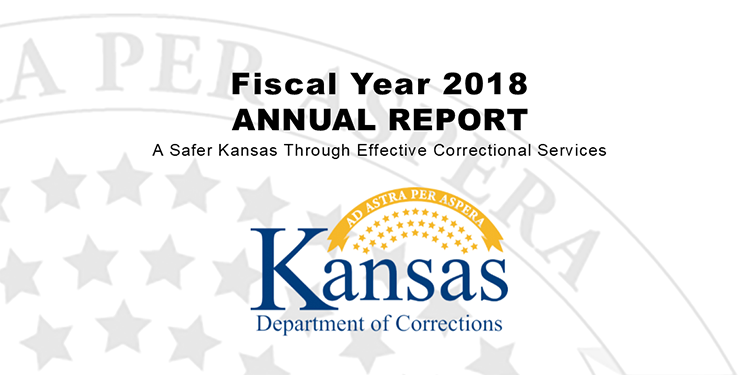 Ks Corrections On Twitter Kdoc S Fy 2018 Annual Report