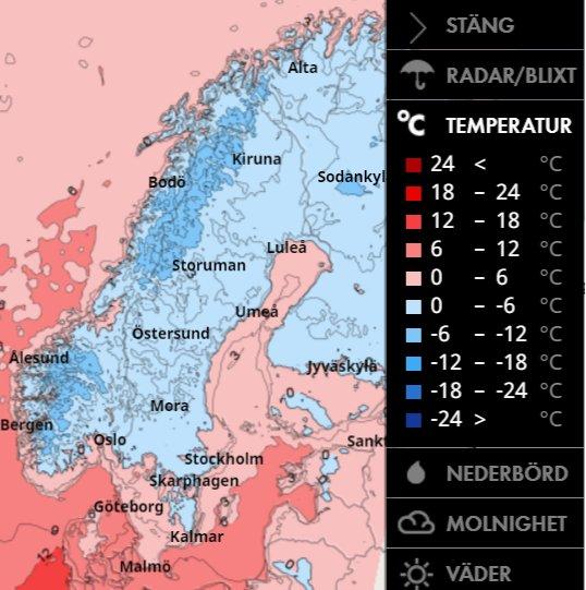 smhi stockholm väder