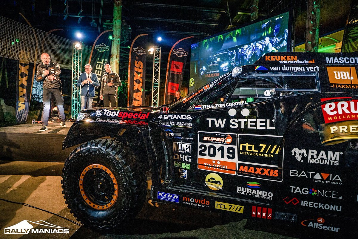 Ram mounts benelux on twitter yessss today we signed the contract to become one of the dedicated sponsors of the tim and tom coronel dakar team