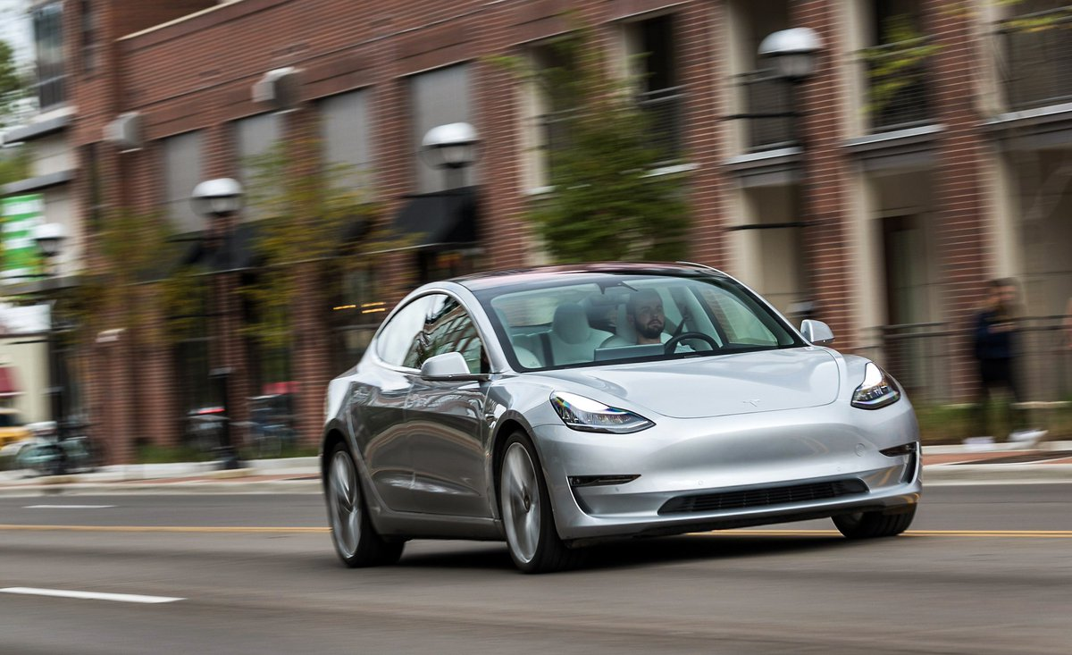 Car And Driver On Twitter The Tesla Model 3 Performance Out