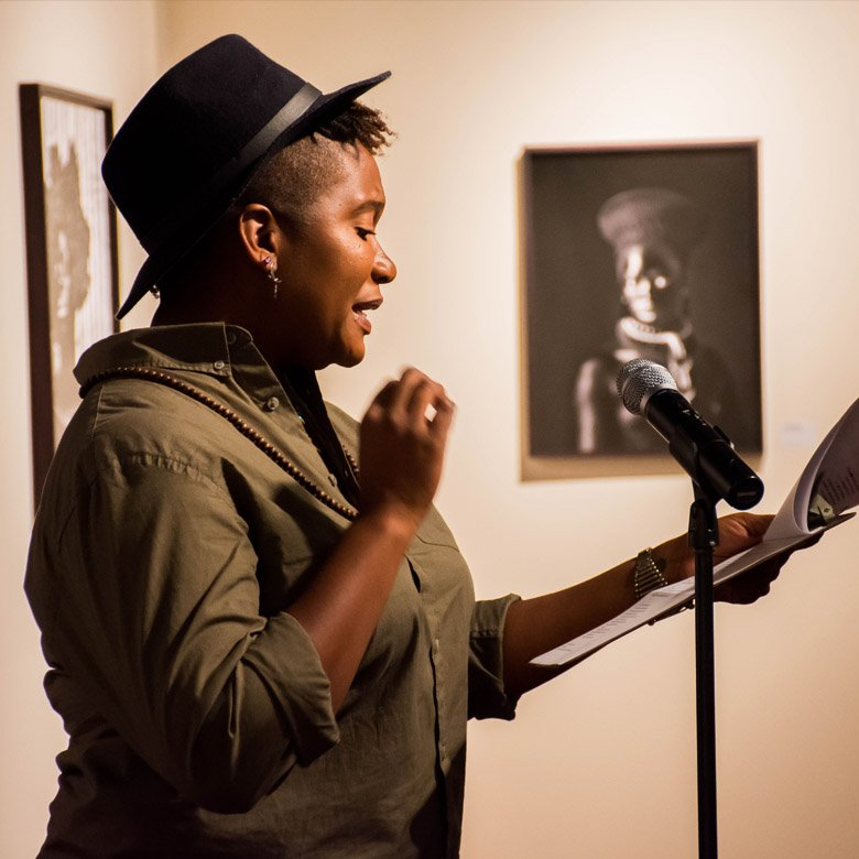 Inspired by our touring exhibition by Zanele Muholi, an afternoon of poetic proportions took place at @spelmanmuseum, Atlanta https://t.co/GynfVAj4jN  #SpelZanelePRIDE https://t.co/h9IOU6dIfj