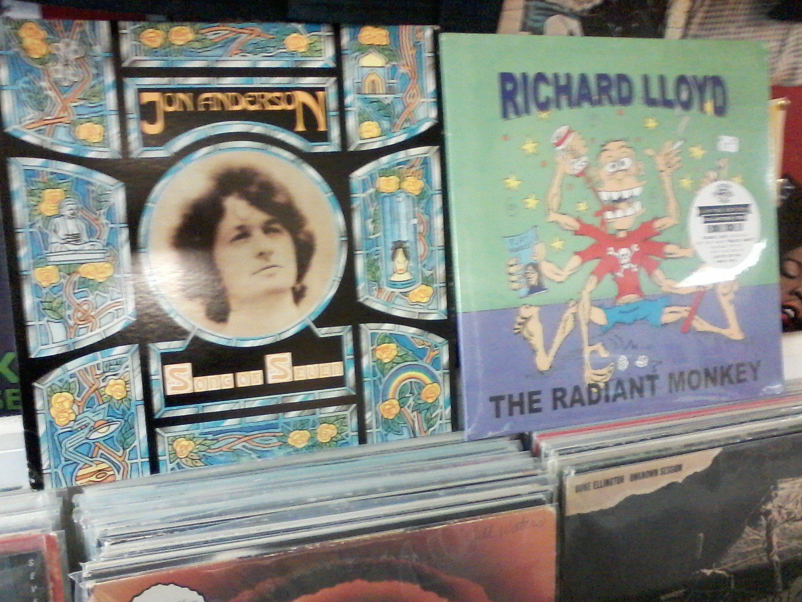 Happy Birthday to Jon Anderson (Yes) & Richard Lloyd (Television)