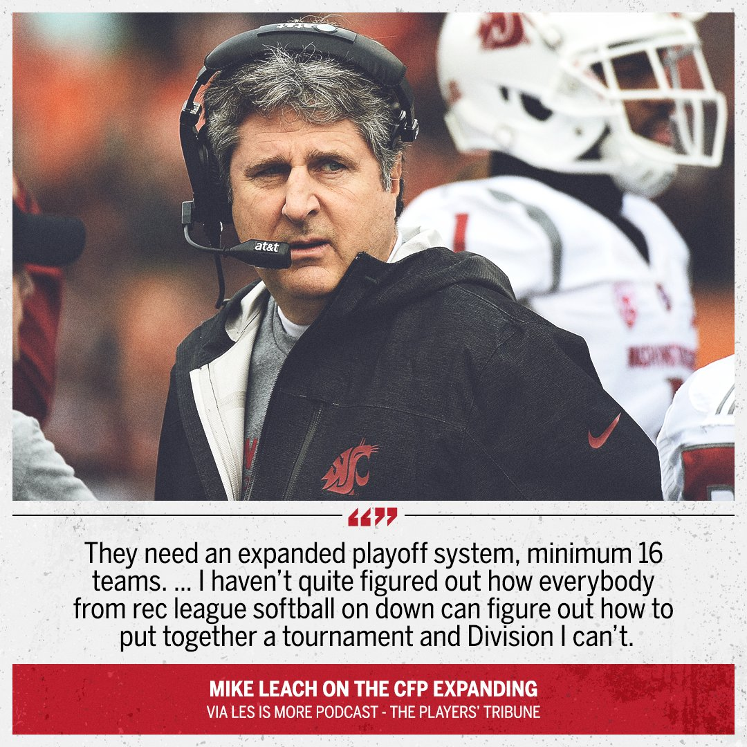 Mike Leach did NOT hold back 👀