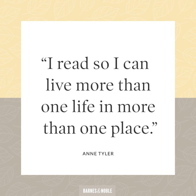 Happy birthday, Anne Tyler! Reply & let us know why you read.