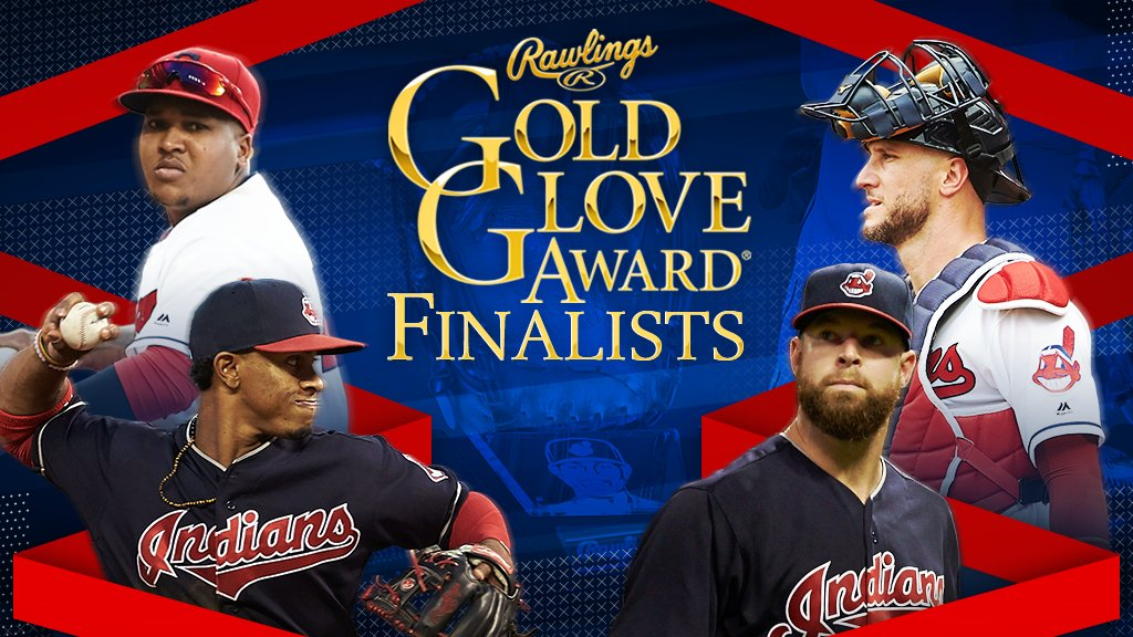 That's gold, Rawlings! Gold!  Our 4️⃣ finalists for the #GoldGlove Award ...  #RallyTogether https://t.co/yvOhYazMgs