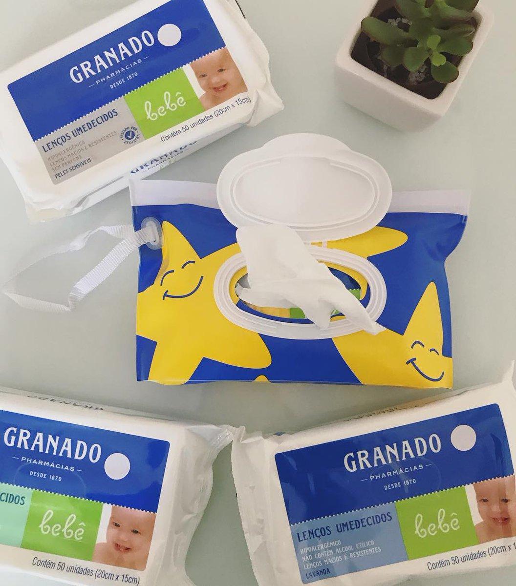 Estamos 😍 pelo novo Kit Porta-Lenços Umedecidos! Ele vem com 4 pacotes de lenços + um porta-lenços exclusivo. Você encontra em uma de nossas lojas, no site (link na foto) ou nas maiores farmácias do Brasil. Compre online: https://t.co/GupsTDkgmk https://t.co/FlmpFJEXJP