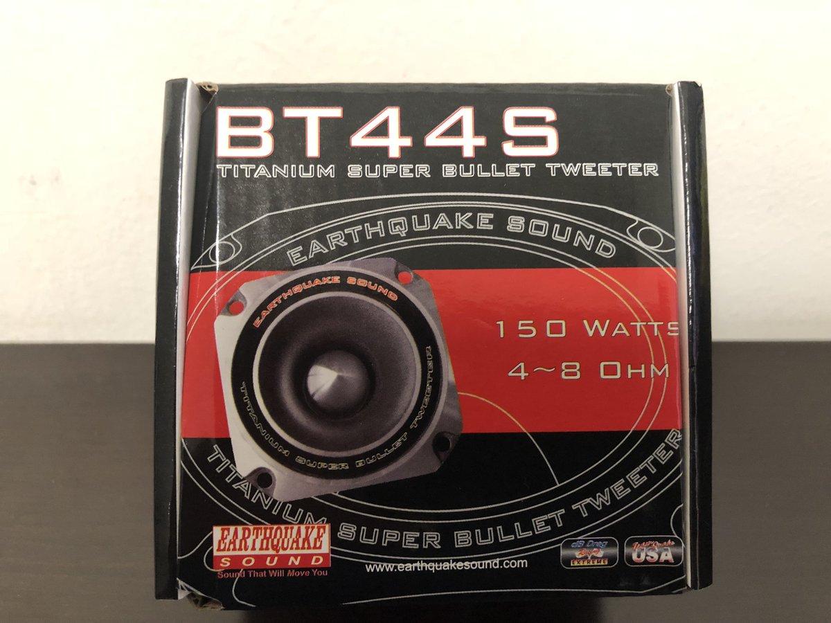 Earthquake Sound BT-44S 150W Heavy Duty Titanium Bullet Tweeter
