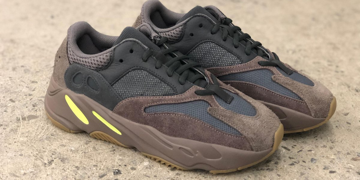 The @adidas YEEZY Boost 700 in Mauve