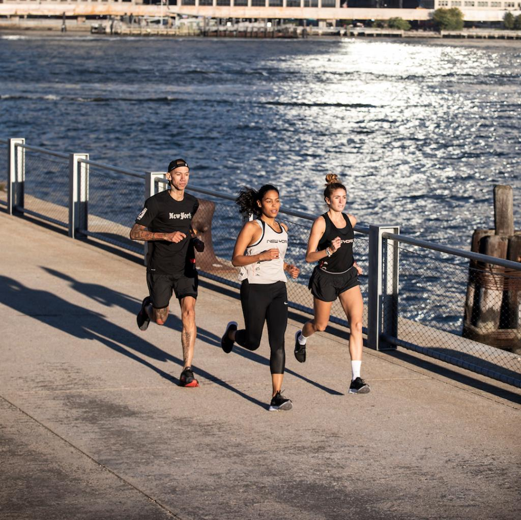 91d947bd03f21 Gear up for race day in the greatest city in the world. Visit any NYC Nike  store to pick up exclusive apparel and footwear.