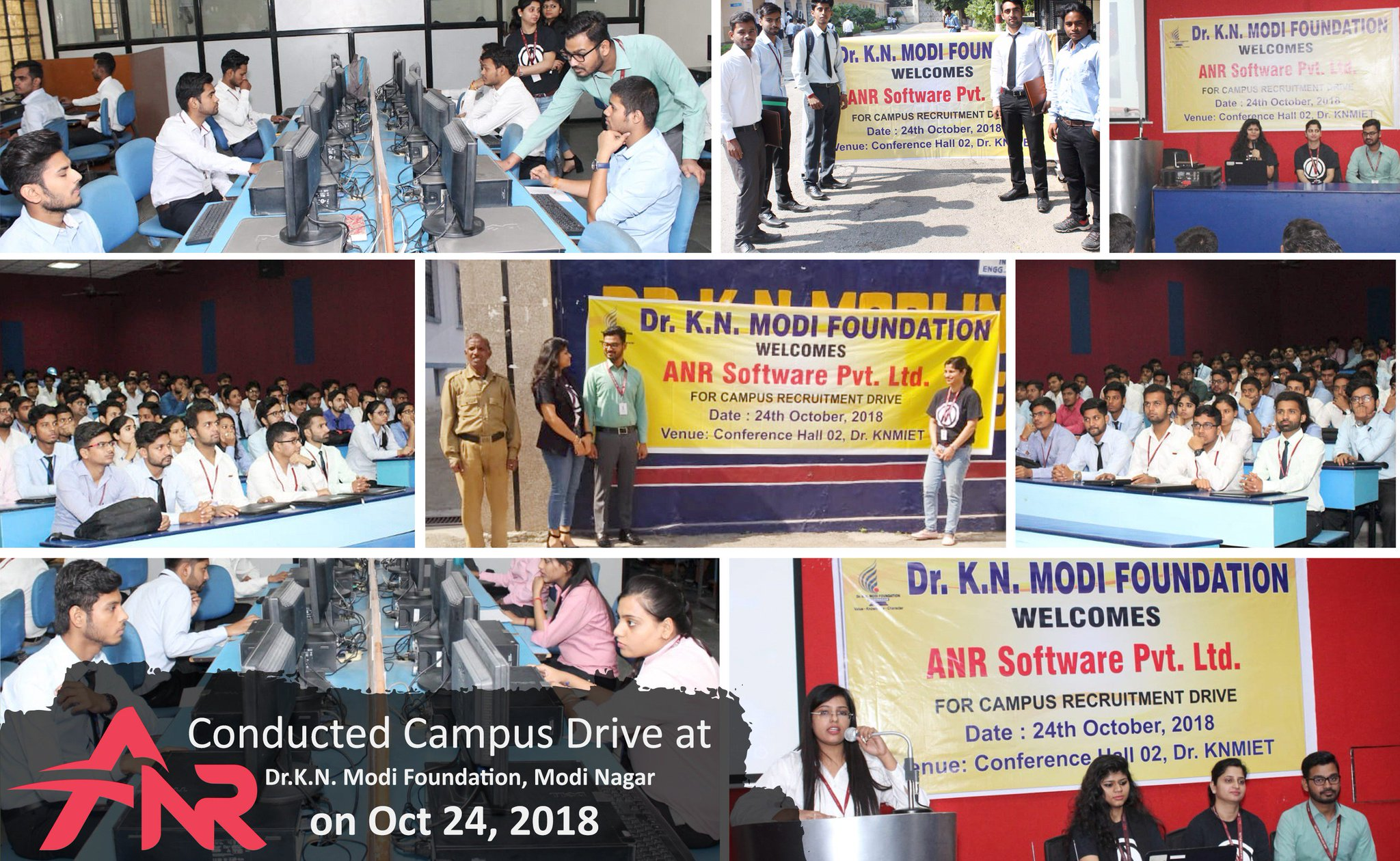 Anr Software Pvt Ltd On Twitter Anr Software Pvt Ltd Conducted Campus Drive At Dr K N Modi Foundation Modinagar On Oct 24th 2018 Campusdrive Hiring Anr Software Pvt Ltd Knmfoundation Https T Co E3x75tepcq