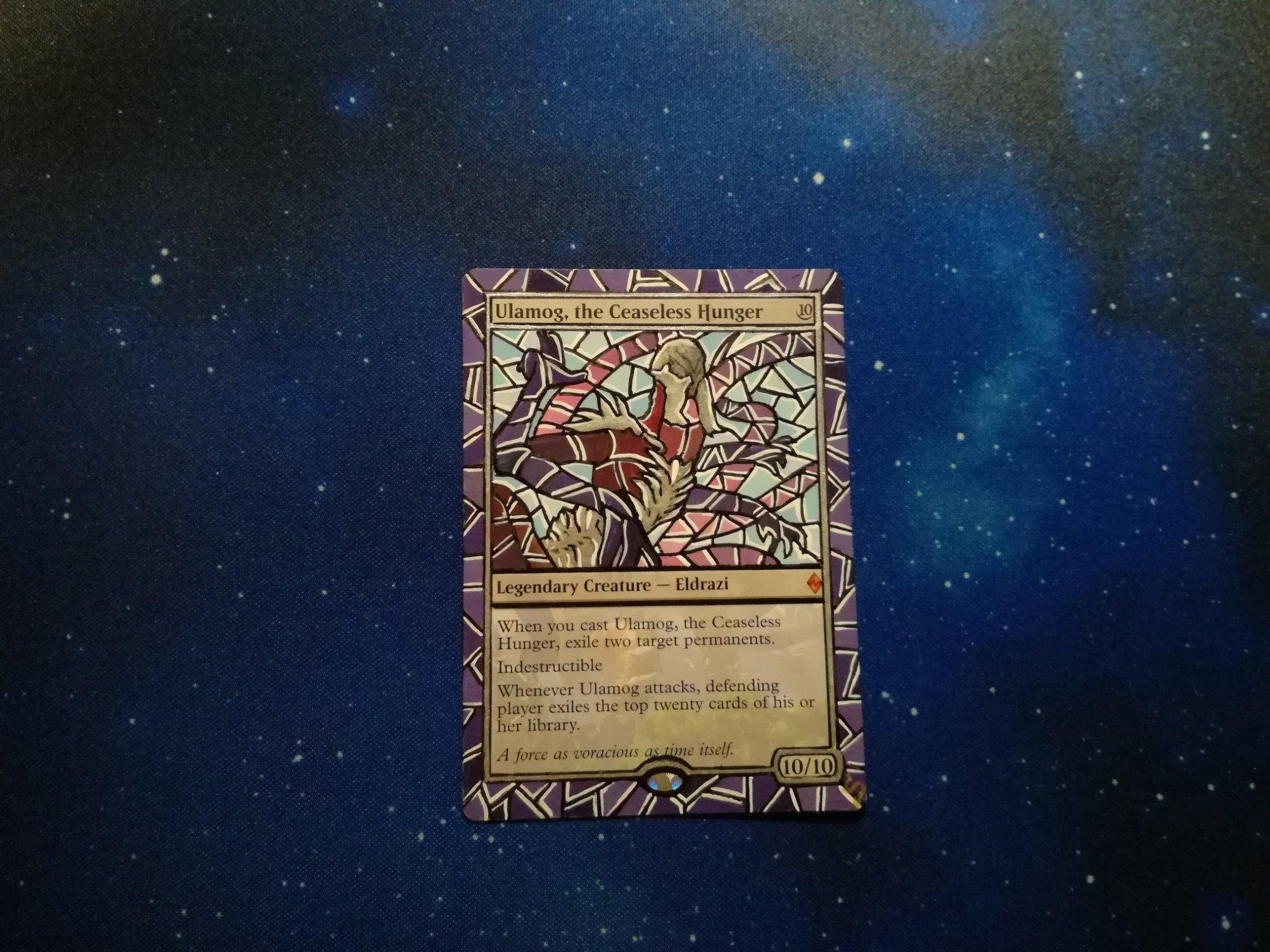 Shivanalteredart On Twitter The Card I Made For The Winner Of