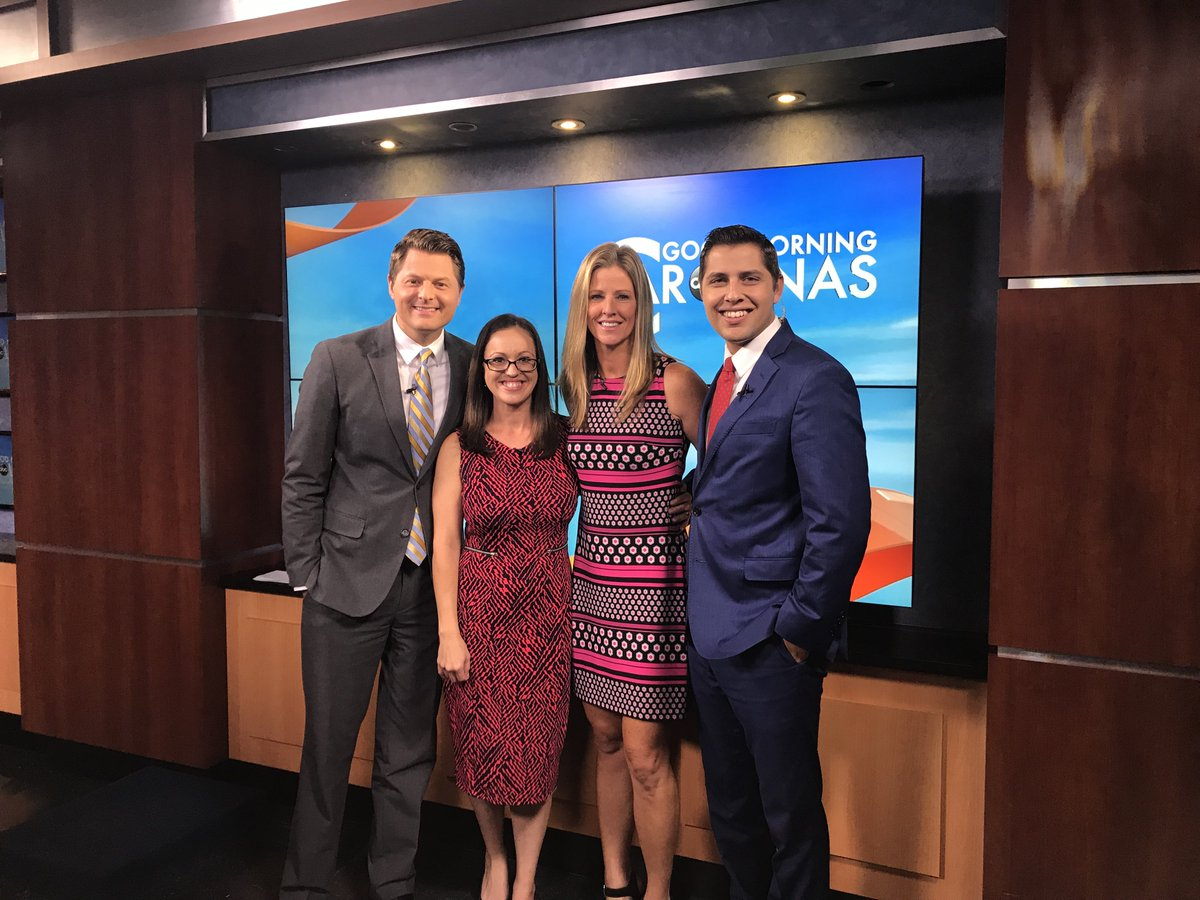 Thanks to our co-founder @KellyTilghmanGC and @wmbfnews @wpdeabc15 @WRNN995 for helping us spread the word about @genesdream & @mentorcup! We look forward to a special weekend raising $$ for @FirstTeeCoastal #MentorCup