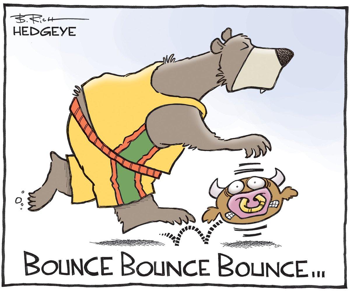 Risultati immagini per cat bounce hedgeye