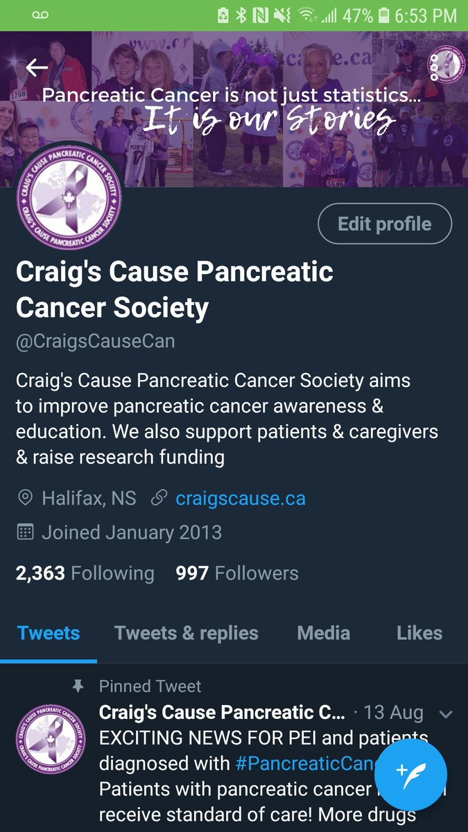 Please encourage your followers to join us, as we take on #PancreaticCancer  and #DemandBetter for patients, caregivers and healthcare ...