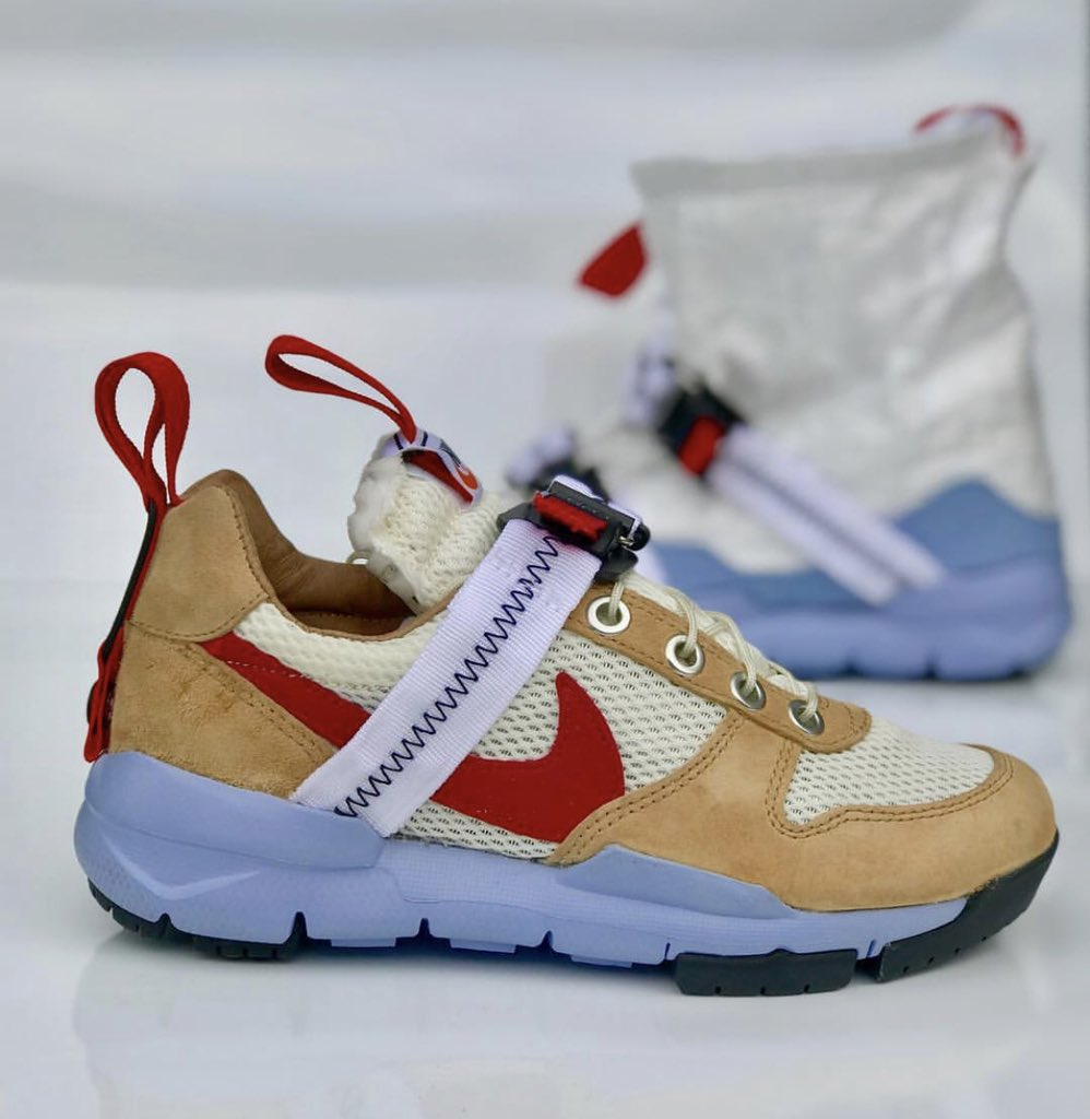 55e47f748bb2 Custom Tom Sachs x Mars Yard x Nikecraft  Overshoe  by kscustoms  IG   snkr twitrpic.twitter.com zhAXtHJdoQ