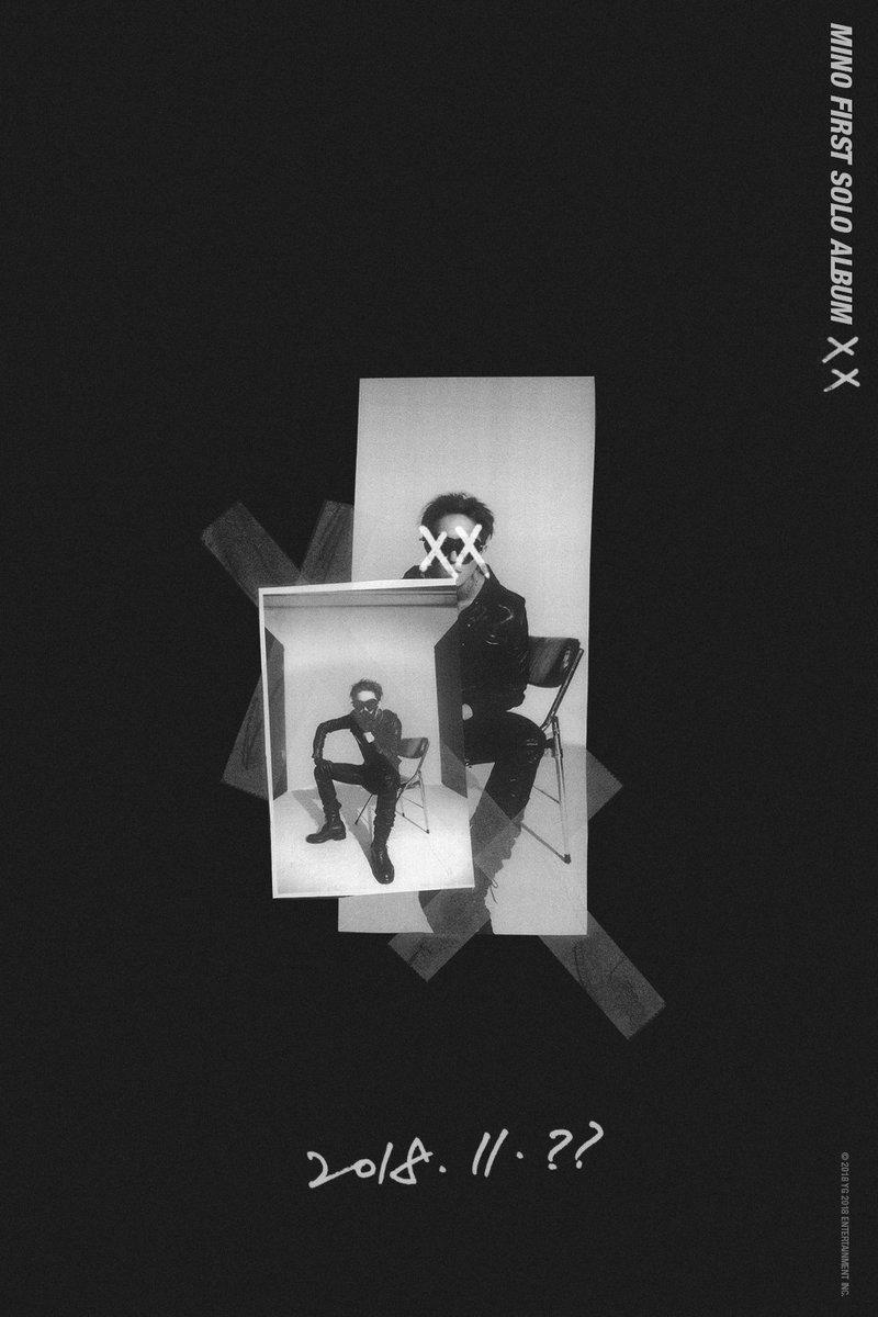 #MINO 'FIRST SOLO ALBUM : XX' COMING SOON  #미노 #WINNER #위너 #FIRSTSOLOALBUM #XX_mino #YG