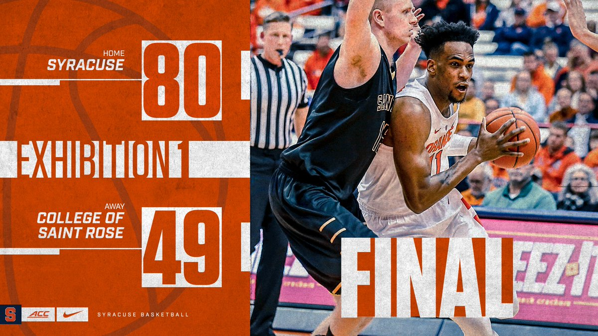 Syracuse Basketball On Twitter Final From The Dome In The