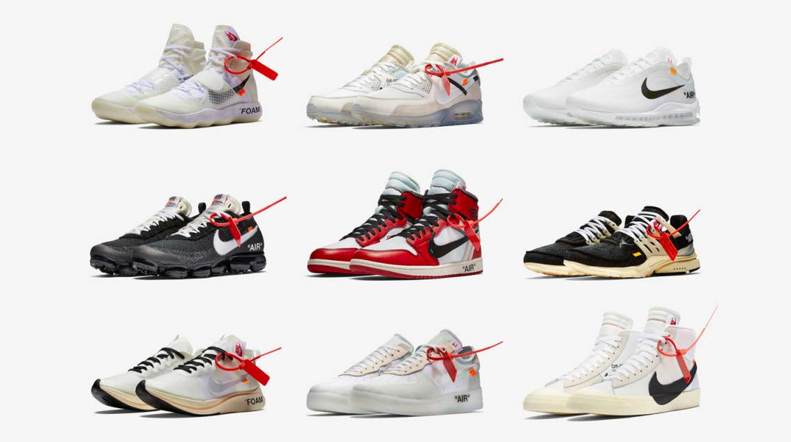 detailed look c01df 658cb ranking every off white x nike sneaker 24 off white x nike zoom fly  mercurial 6