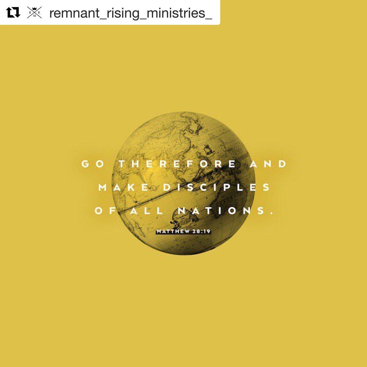 remnantrisingministries hashtag on Twitter
