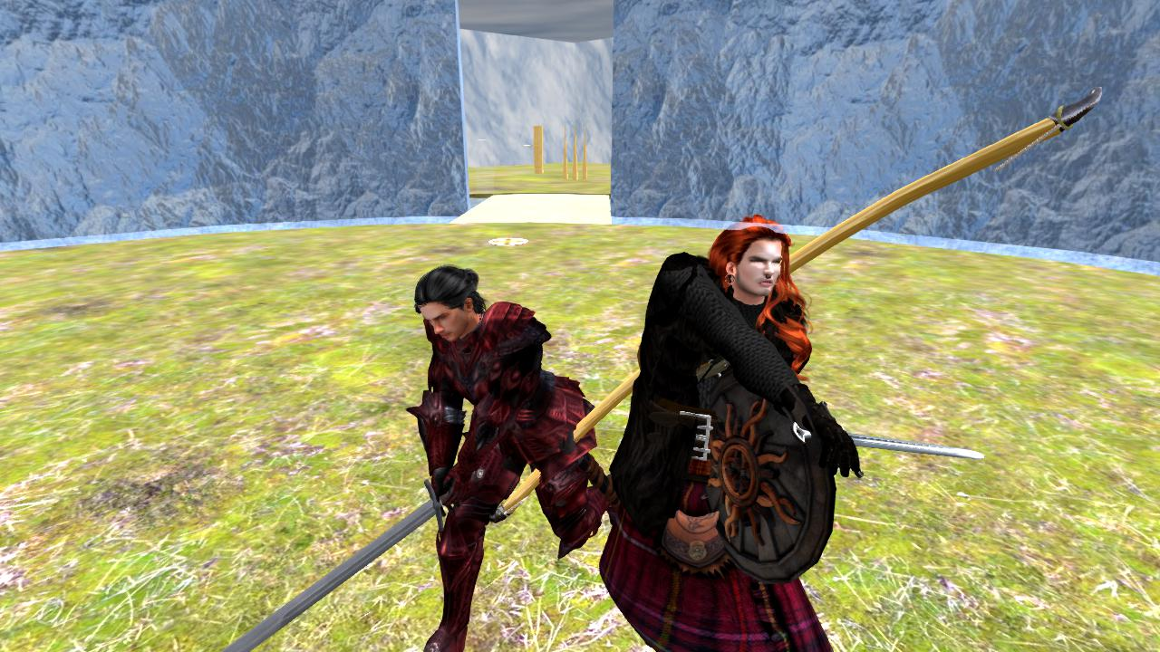 Second Life Sword Fighting • DARLECIA MELEE EVENT!! (10.25.2018)