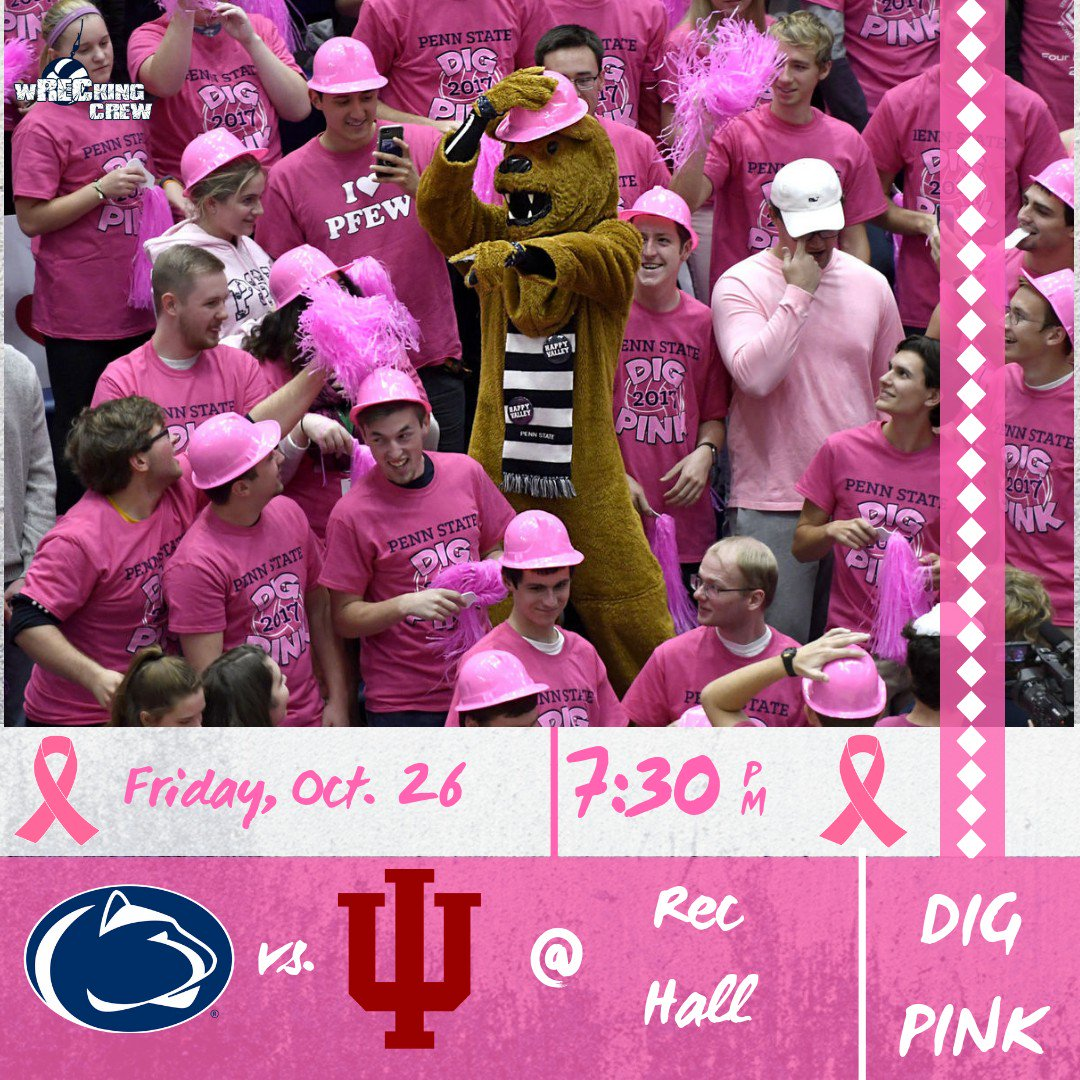 Important match. 🏐💪 More important cause.💗🎗️ #WeAre #BeatIU #BeatCancer