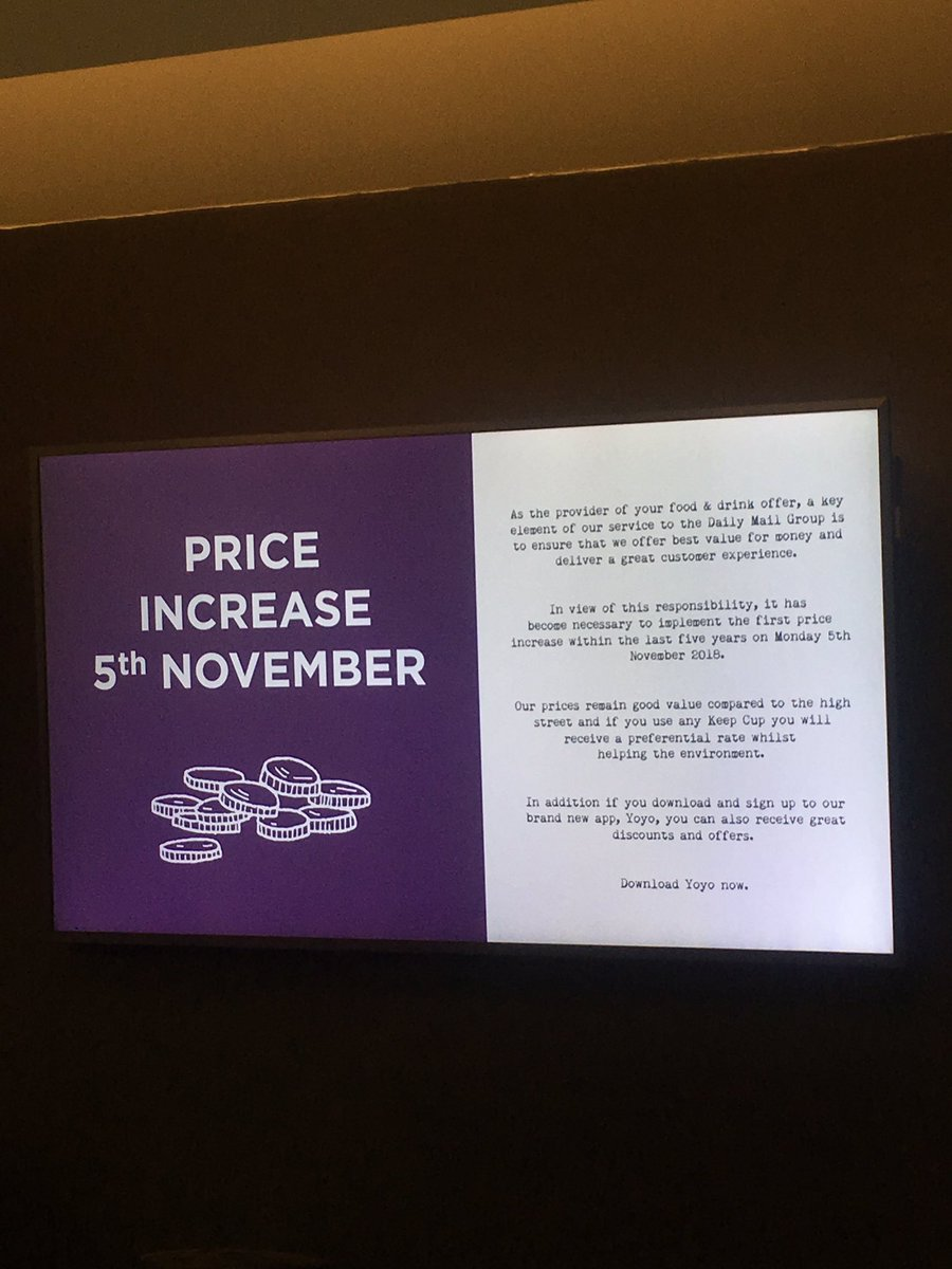 NORTHCLIFFE HOUSE 🚨 Canteen prices are being hiked up (!!!)