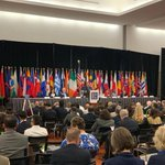 Global Day is underway! Over 60 nations represented this morning. Where will your next referral come from? #narannual