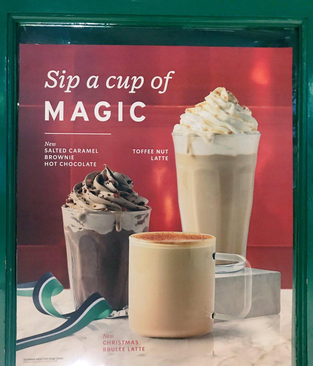 Starbucks Christmas Drinks 2018.Well This Is New On Twitter It S Christmas Drinks Season