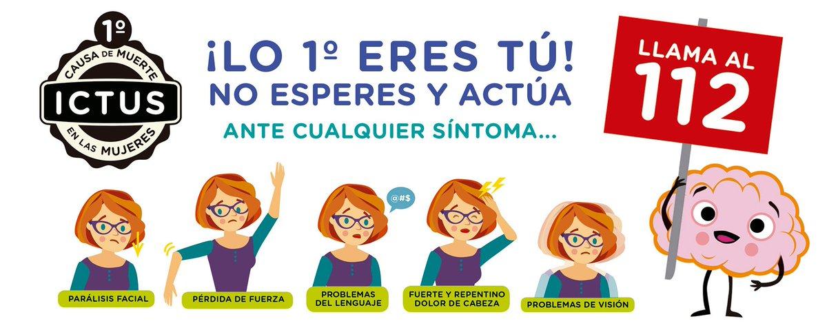 """Freno al ICTUS på Twitter: """"👭#IctusyMujer 🧠 ¿Cómo identificar un ..."""