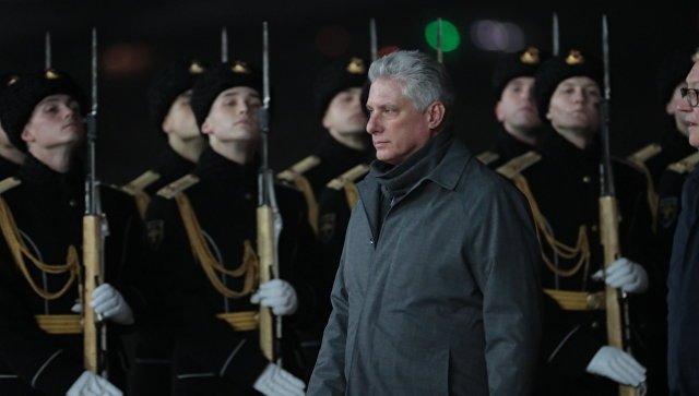 Лидер Кубы приехал в Москву