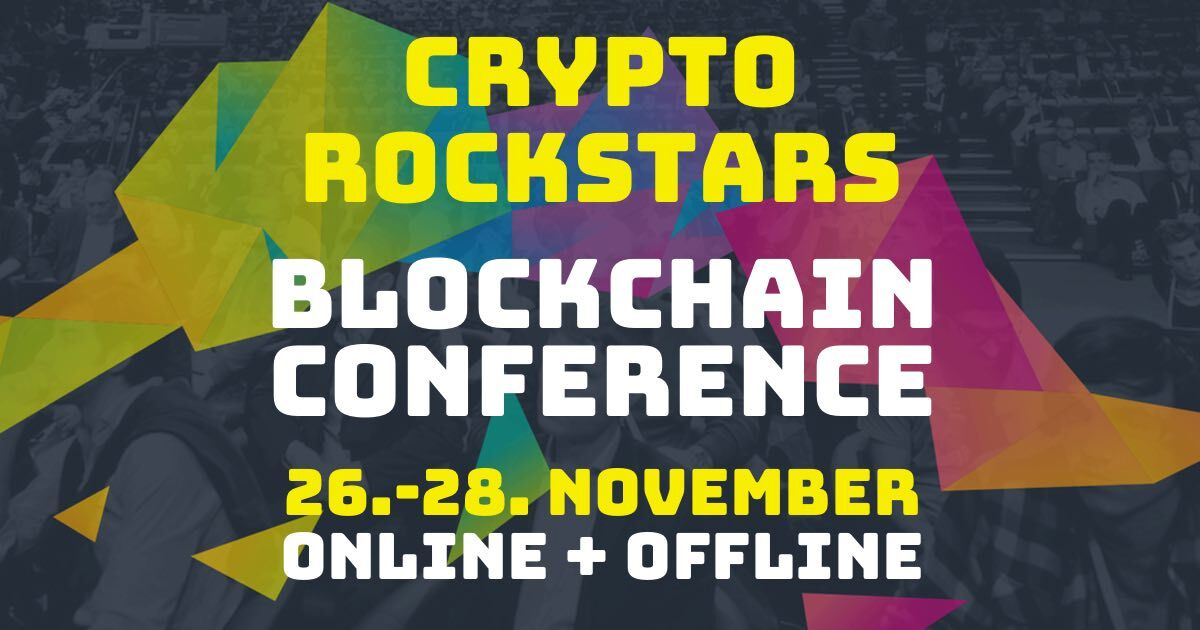 Watch out for #Crypto Rockstars in #Cologne on 26-28th of November: https://t.co/EpDWV1rHqF https://t.co/EckHkt3sOB