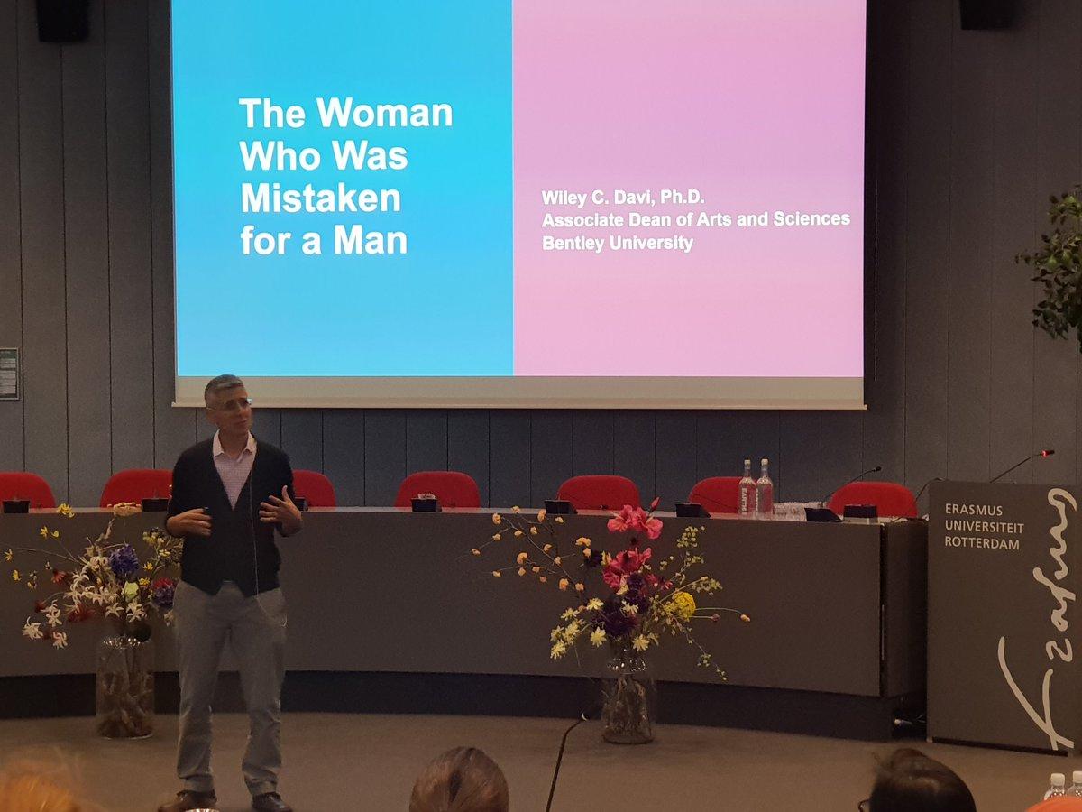 Ecwo On Twitter Wiley Davi Associate Professor Bentley University The Woman Who Was Mistaken For A Man